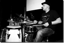 Zay Rios on drums w/ Molina Speaks
