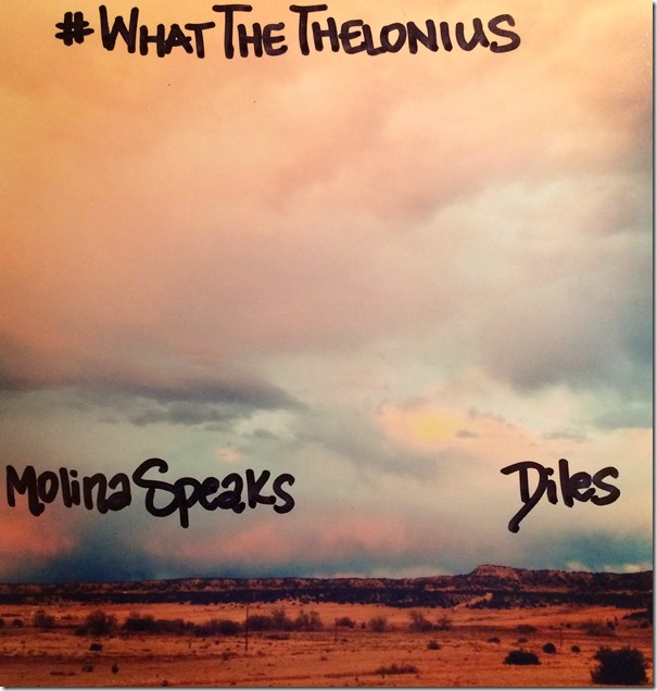 14. Molina Speaks - What The Thelonius (album art)