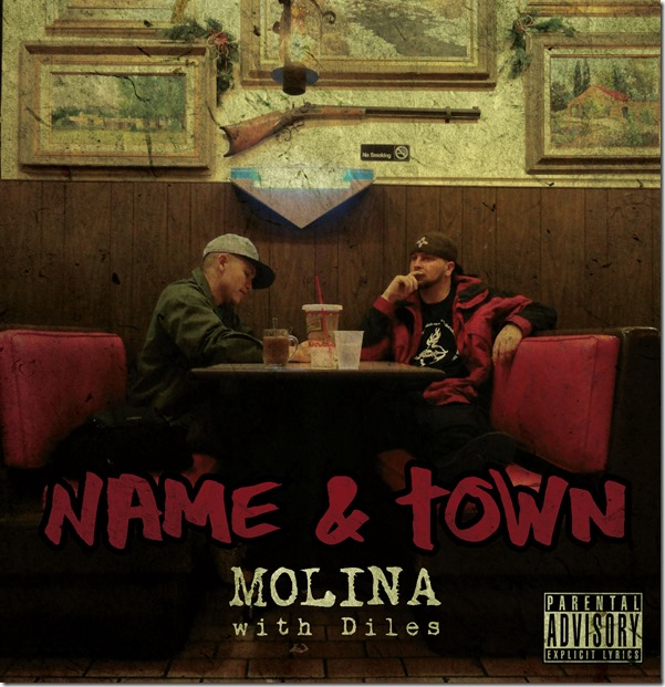 7. Molina and Diles - Name & Town (album art)